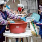 Masiva movilización de comedores comunitarios